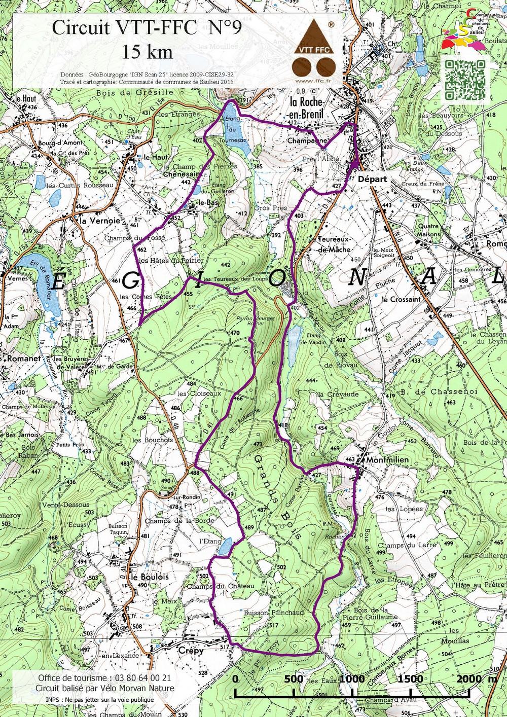 trace itinéraire vélo gratuit